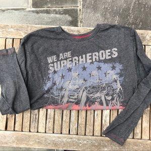 Justice League Boy's Shirt